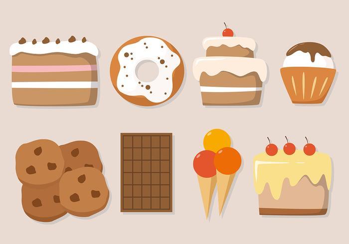 Gratis Cake Vector Illustration