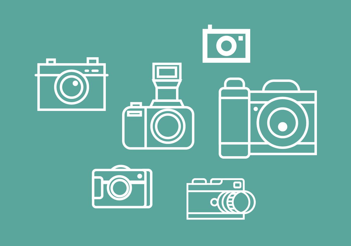 camara vector pack 2 download free vector art stock