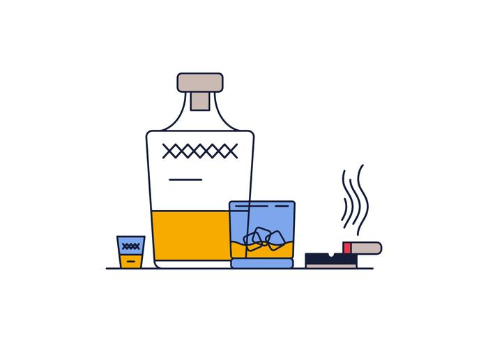 Whisky Vector