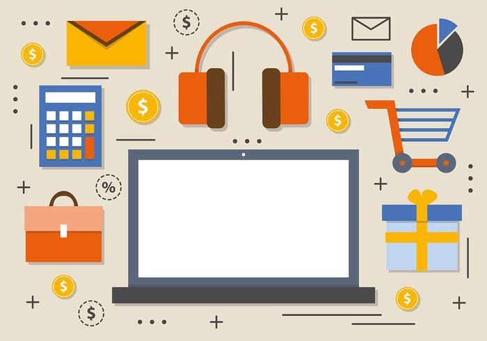 Free Creative Digital Marketing Vector
