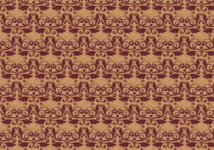Rusty Vector Western Flourish Pattern