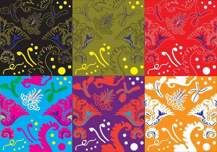 Farbe Acanthus Textur
