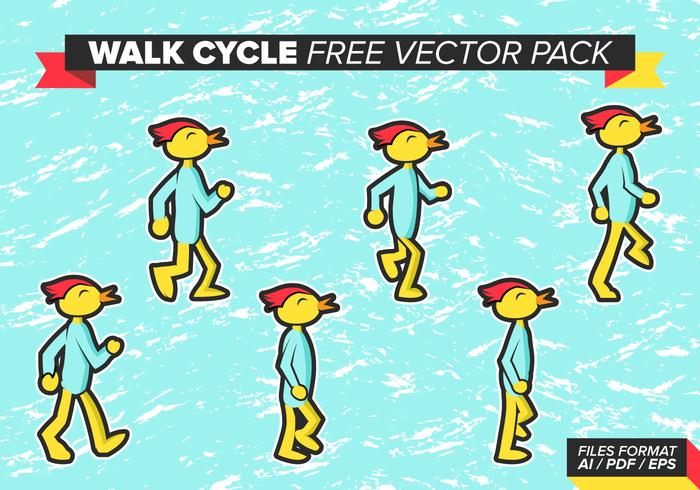 Spaziergang Cycle Free Vector Pack - Kostenlose Vektor-Kunst, Archiv ...