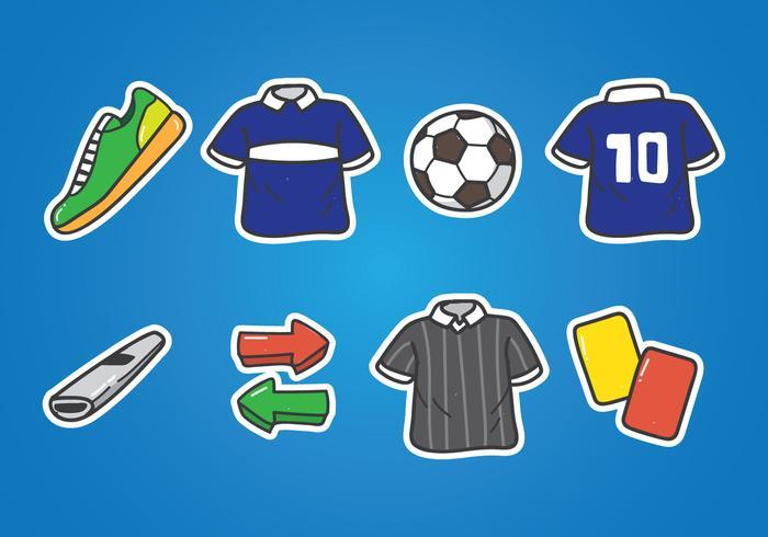 Futsal Doodle Icon