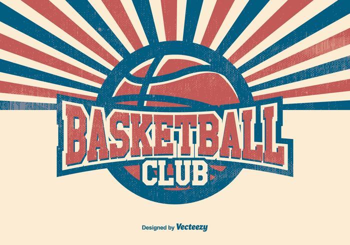 Basketball Club Illustration