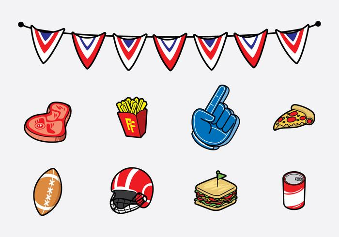 Free Tailgate Feast Icon Vector