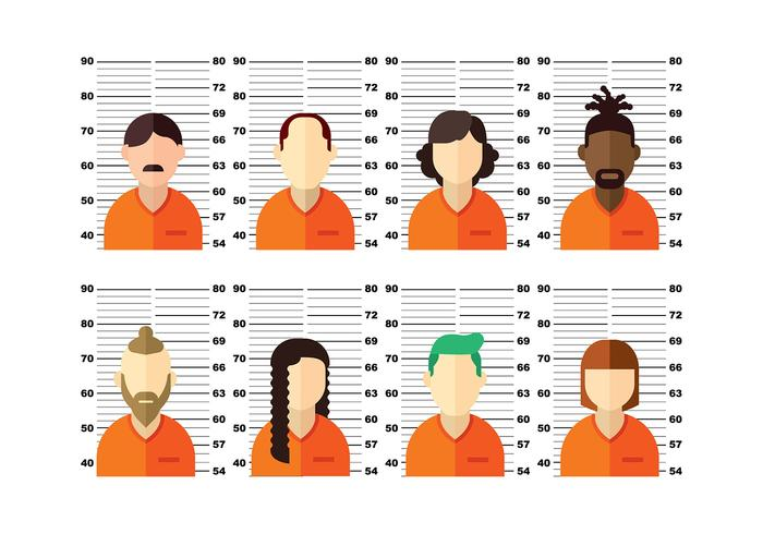 Mugshot Vector People