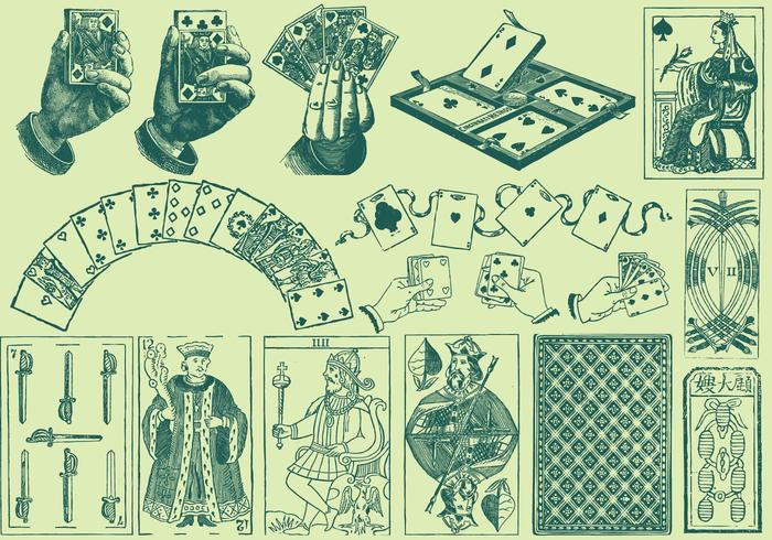 Playing Card Drawings