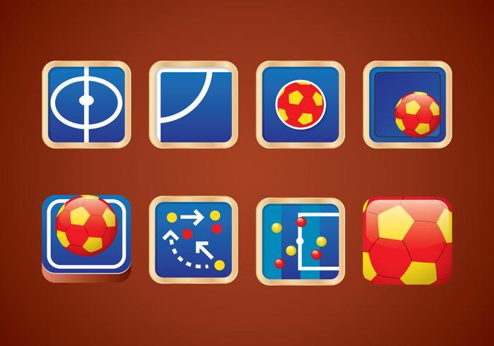 Icône de l'application de futsal