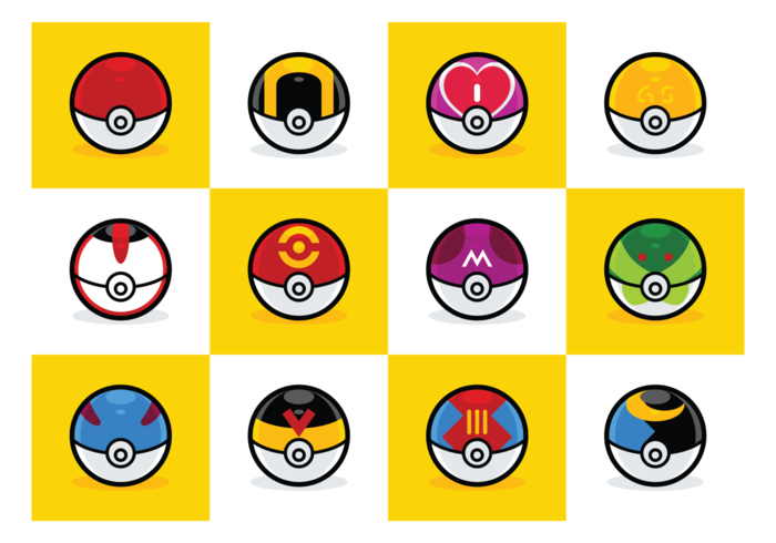 Types de Pokeball