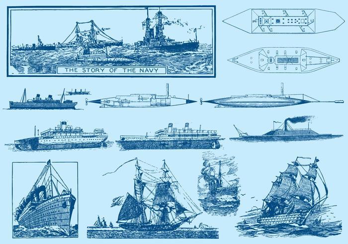 Navy Ships And Submarines