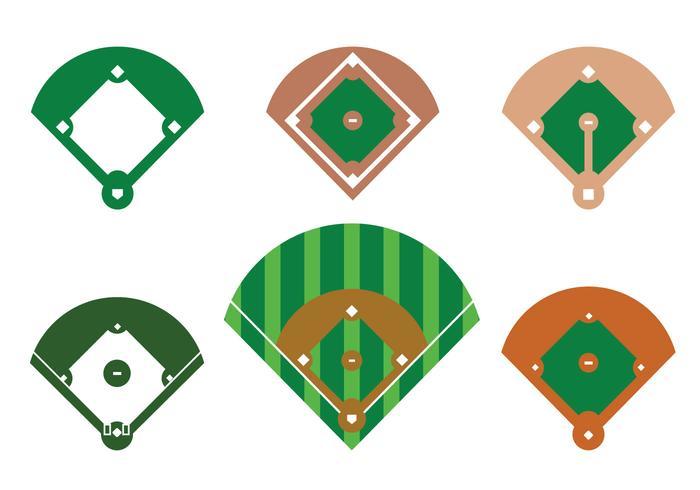 baseball diamond vector download free vector art stock graphics rh vecteezy com Baseball Home Plate Vector Crossed Baseball Bats Vector