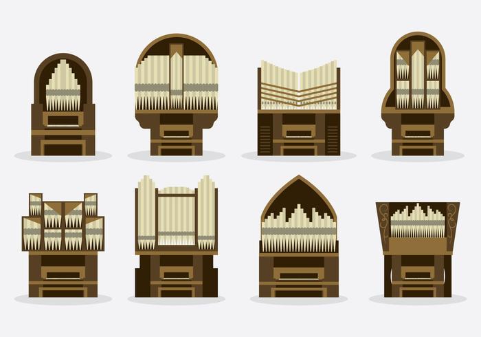 Free Pipe Organ Vector