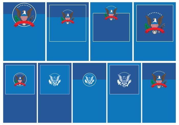 President Seal Template Set