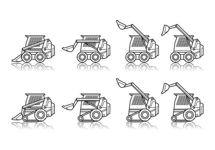 Free Skid Steer Vector