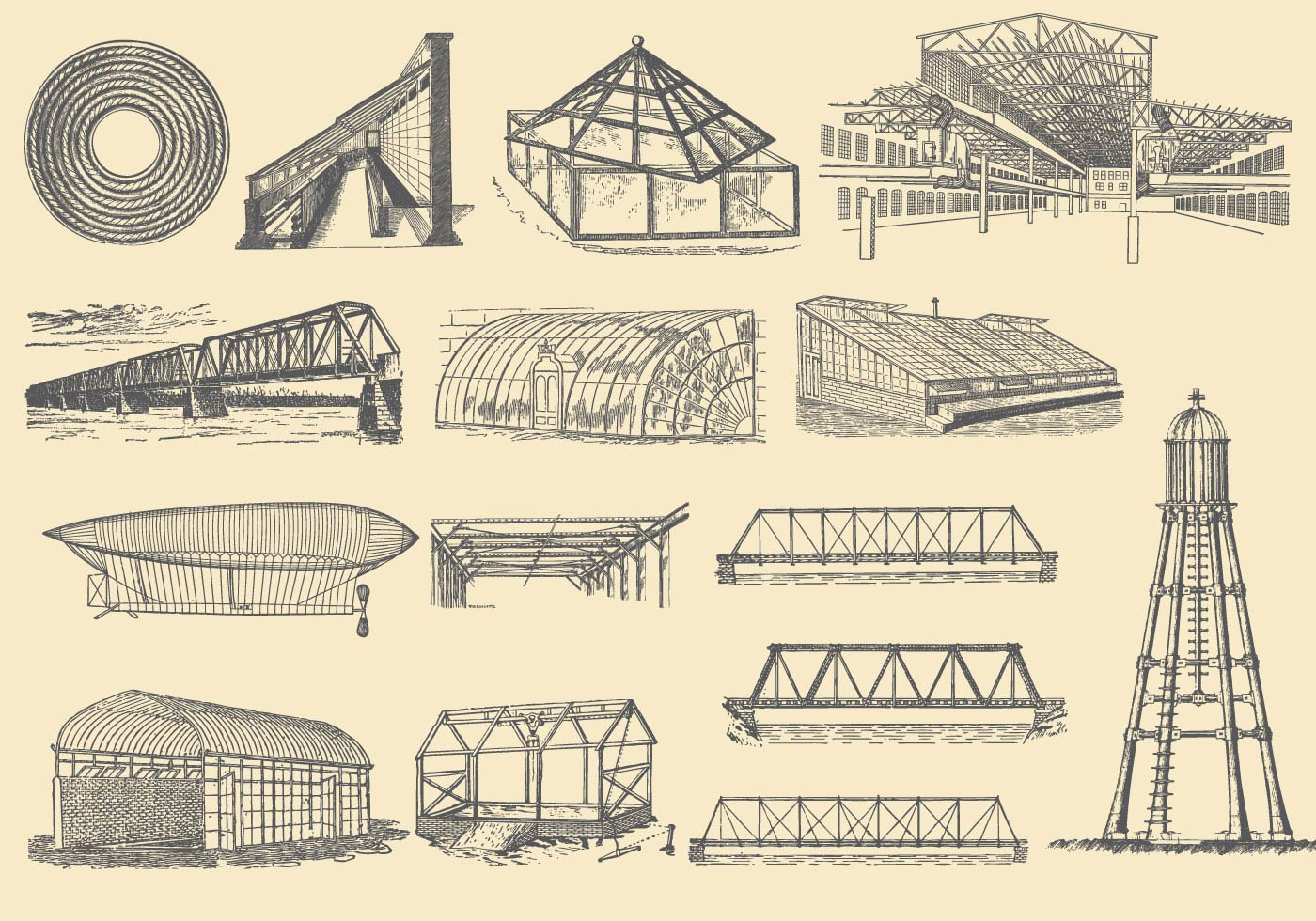 Iron Structures Download Free Vector Art Stock Graphics
