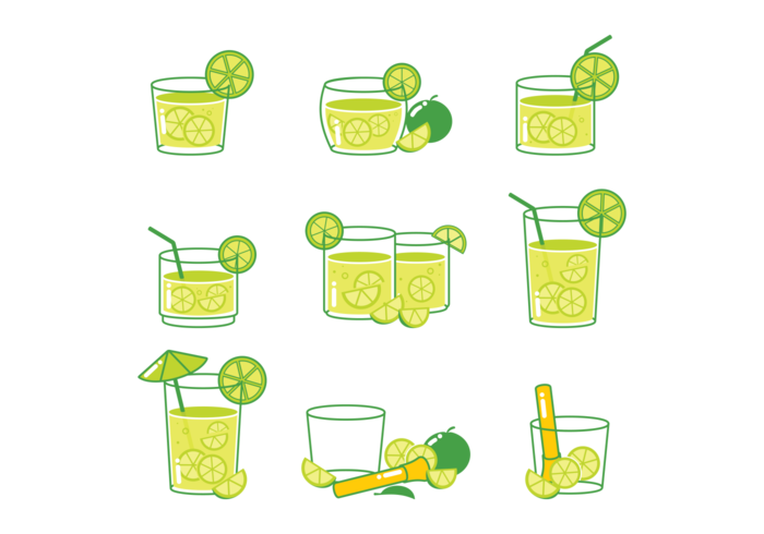 Icone cocktail Caipirinha