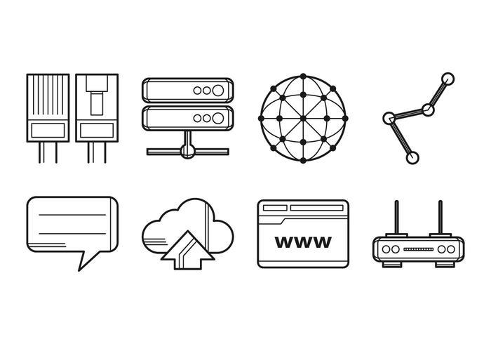Free Internet Icon Vector