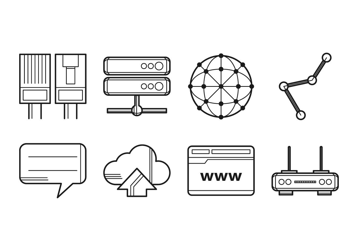 icono de internet gratis icono