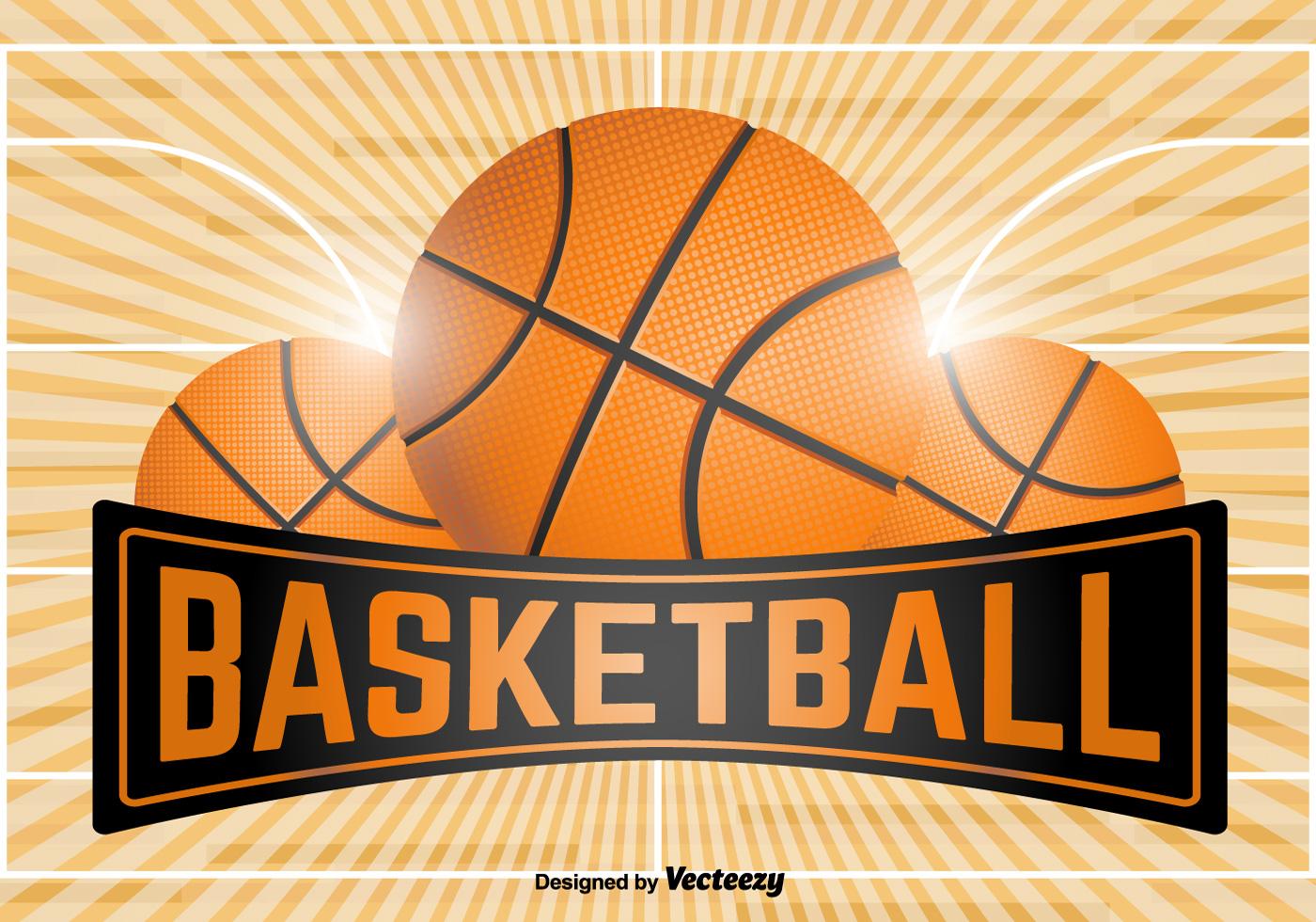 basketball emblem template vector download free. Black Bedroom Furniture Sets. Home Design Ideas