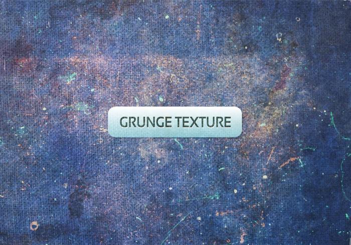 Vector libre textura azul del grunge