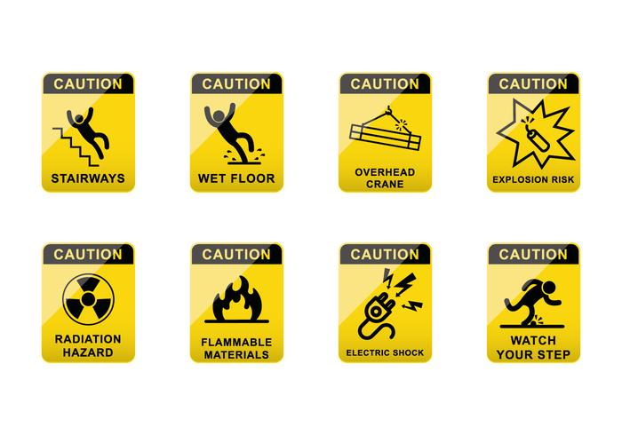 Free Caution Sign Vector