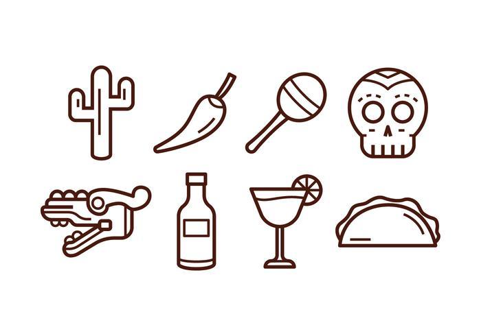 Free Mexico Icon Set