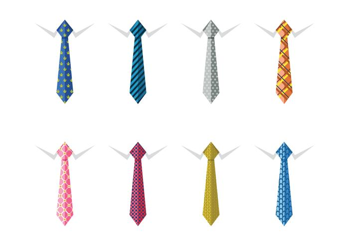 Male business silk neck ties