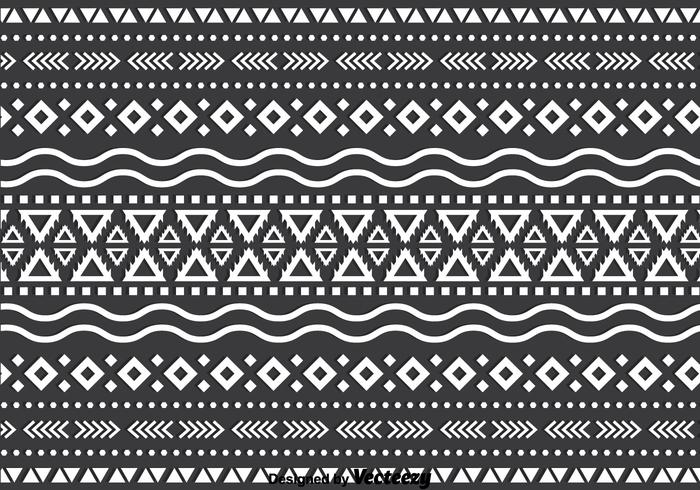 Monochromatic Ethnic Background