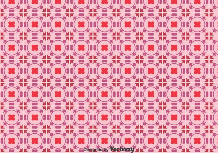 Talavera Purple Tiles Patrón transparente
