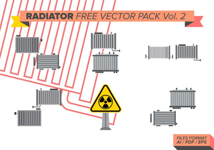 Radiator Free Vector Pack Vol. 2