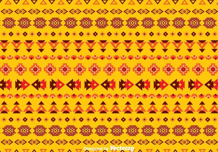 Fondo étnico transparente de color naranja