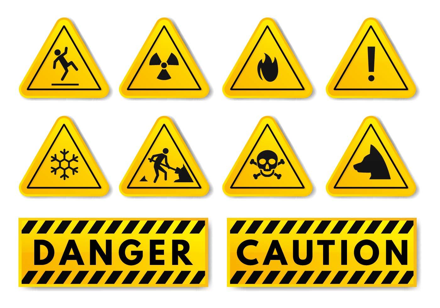 Warning Free Vector Art 13 344 Free Downloads