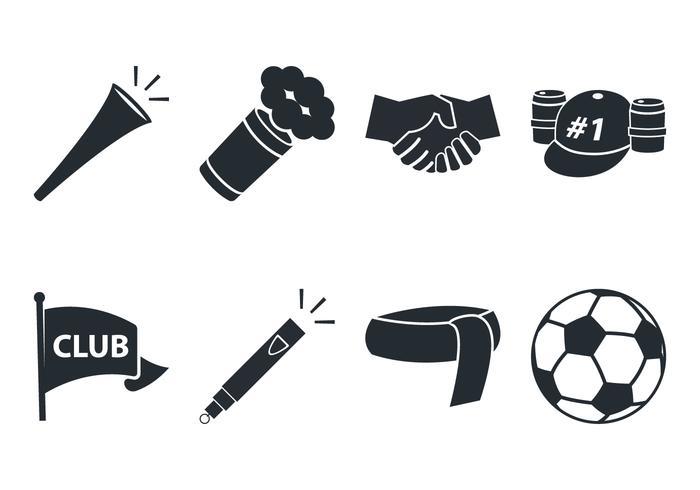 Icono del ventilador de fútbol