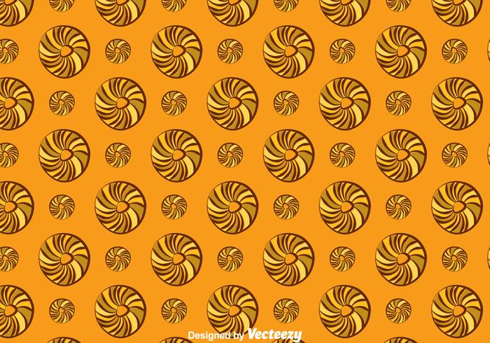 Bagel Pattern Background
