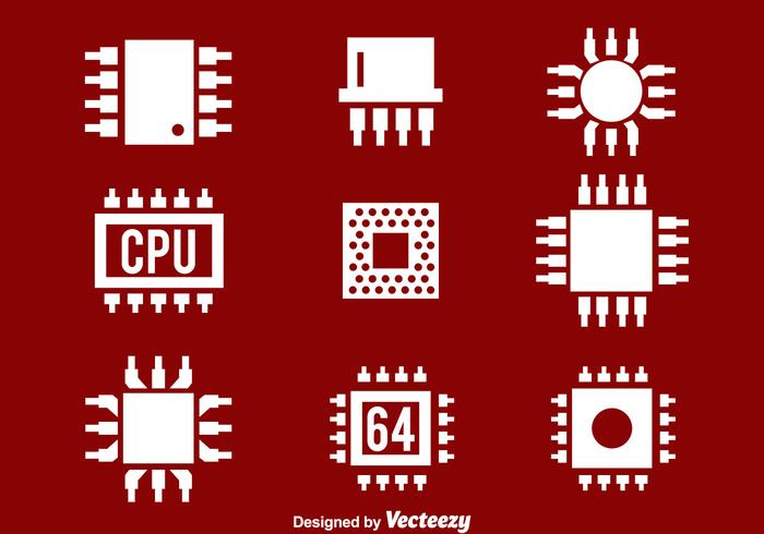 Cpu White Icons