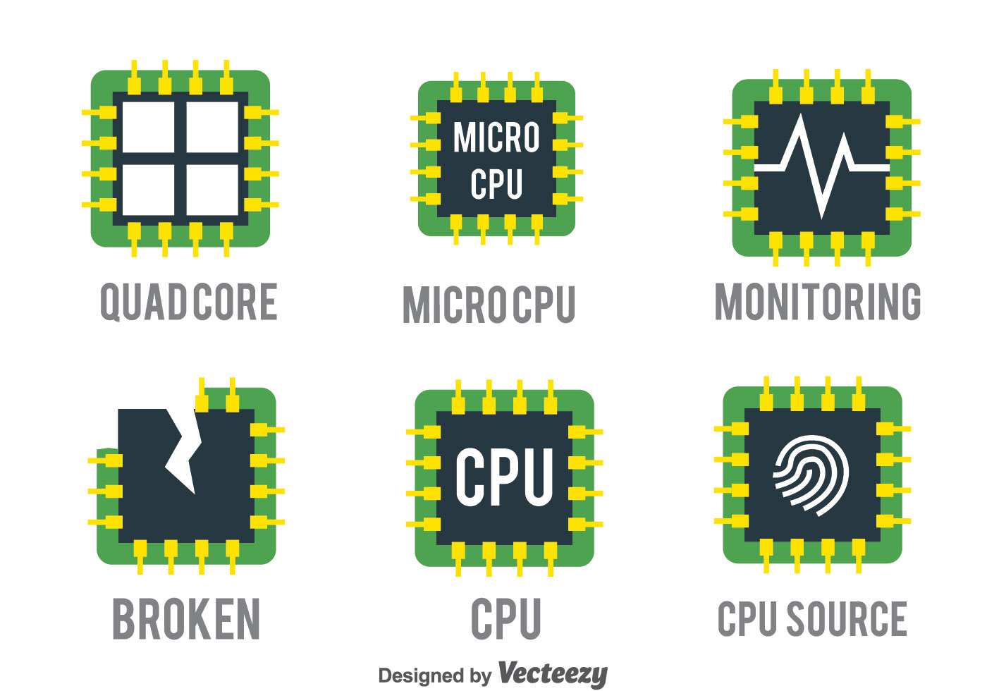cpu vector set download free vectors clipart graphics vector art https www vecteezy com vector art 119563 cpu vector set