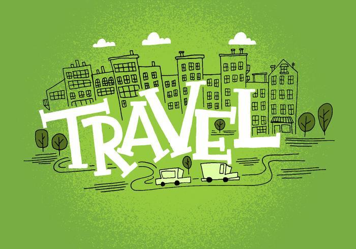 Diseño del paisaje urbano de viaje