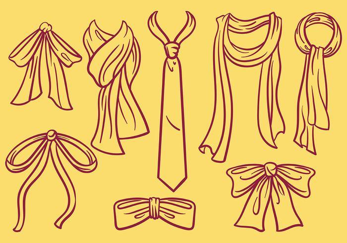Free Cravat Icons Vector