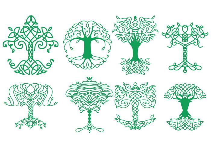 Libere los iconos célticos del árbol