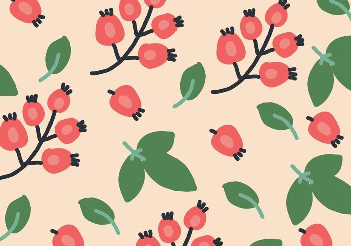 Padrão orgânico de rosa