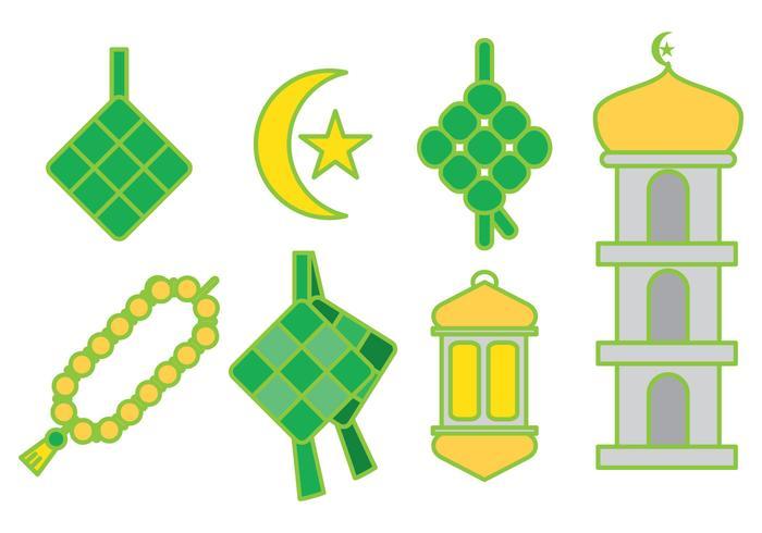 Ketupat Ramadan Vector