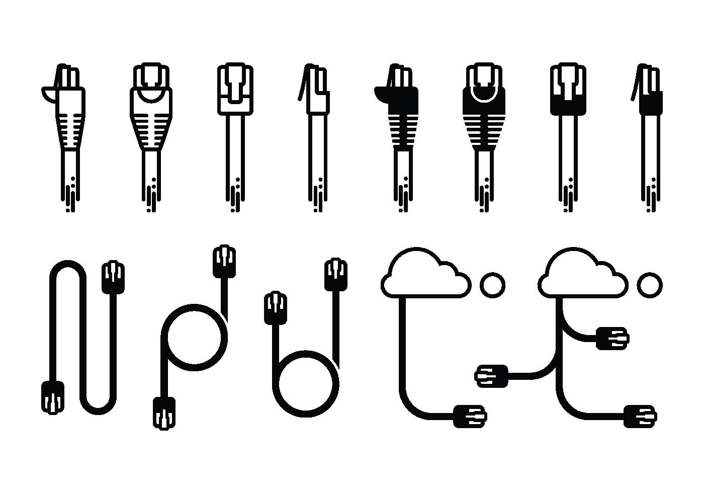 iconos rj45
