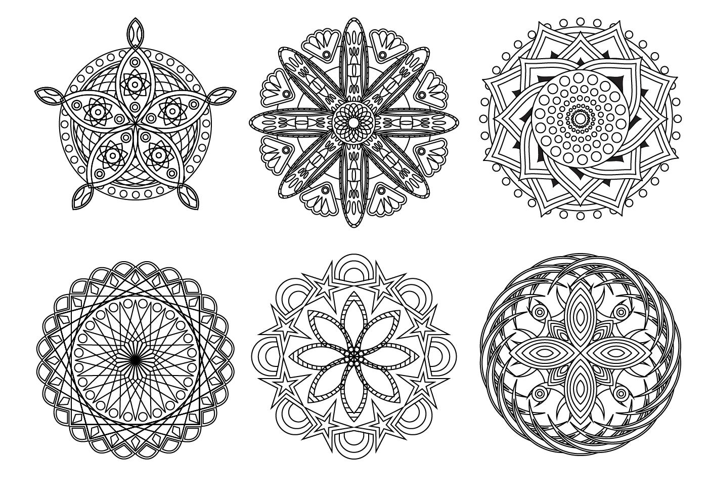 Free Mandala Vector Download