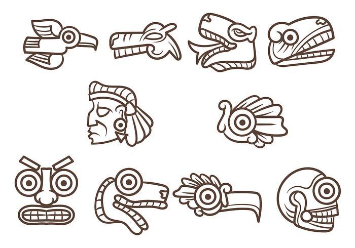 Vetor Quetzalcoatl