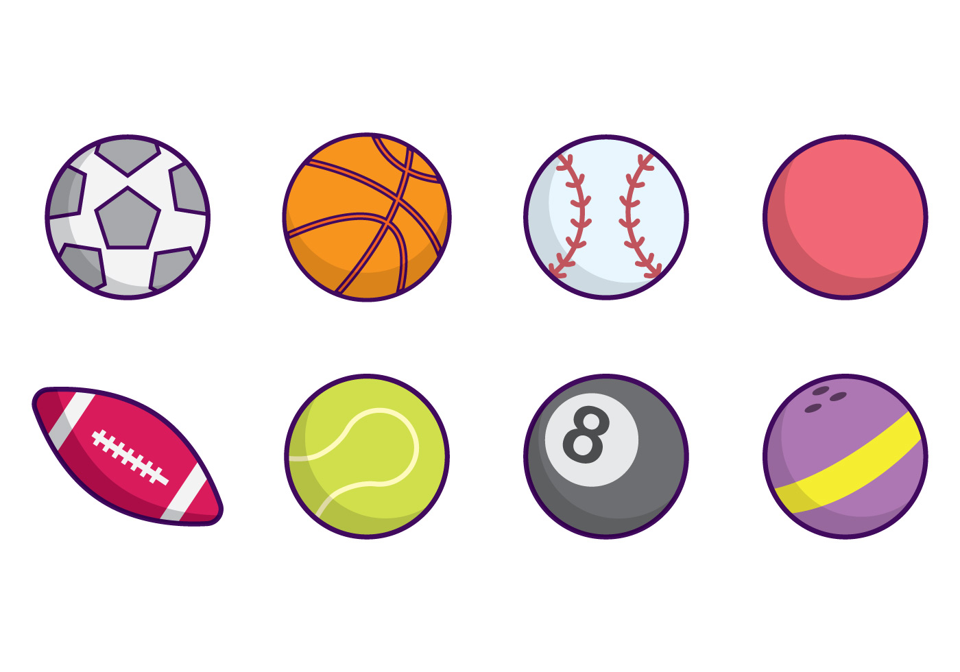 Sports Ball Vector Download Free Vectors Clipart Graphics Vector Art