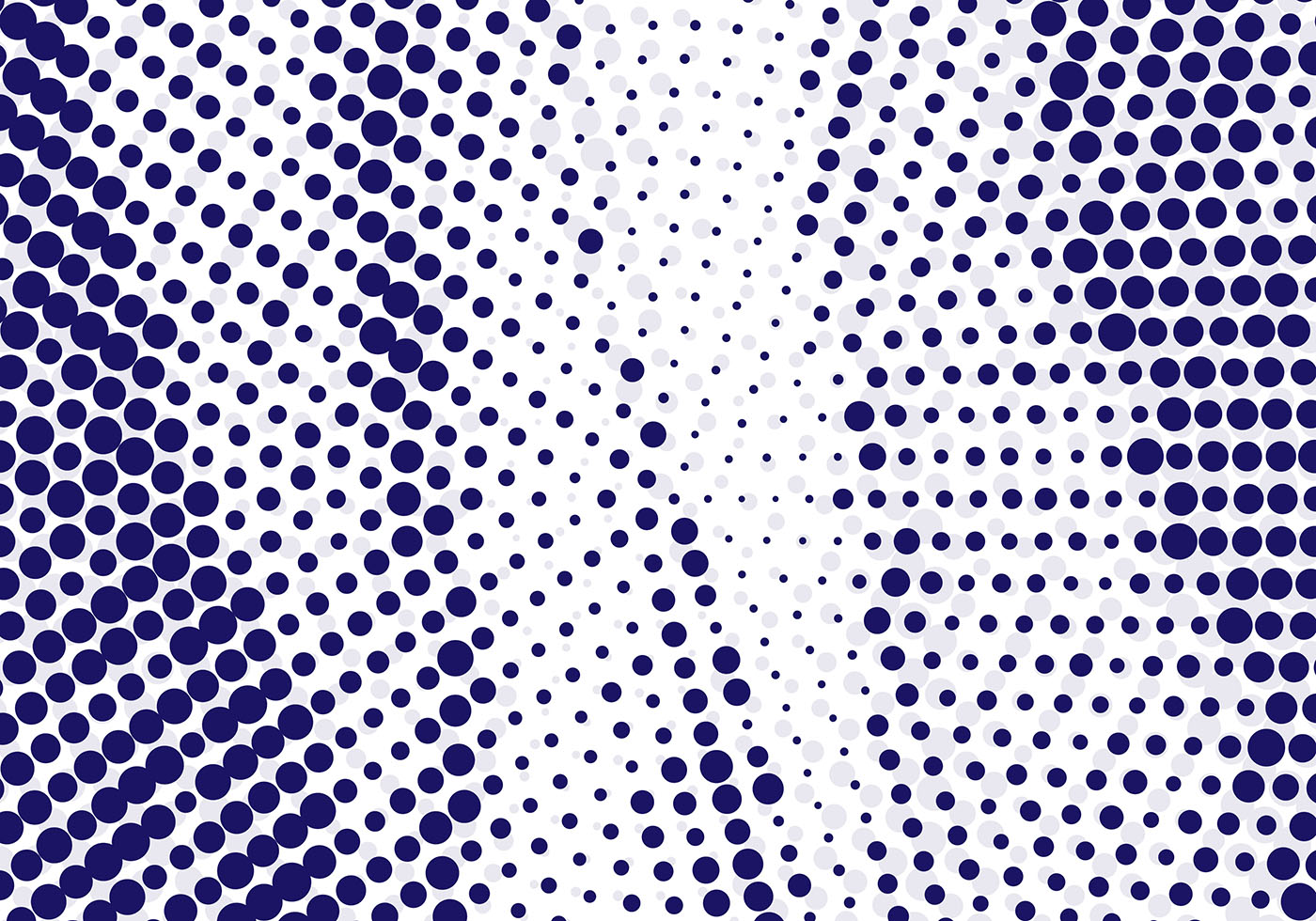 Free Vector Halftone Background