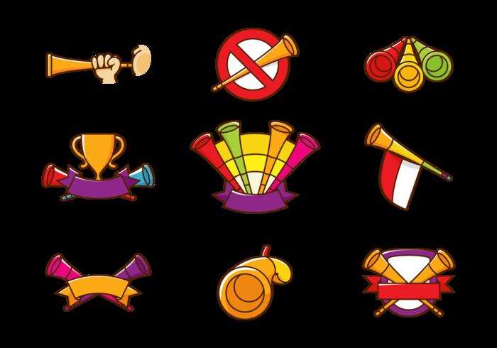 Vuvuzela Trompeta Vector