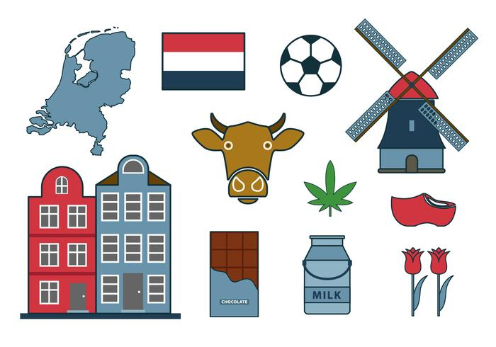 Free Netherland Vector Icon