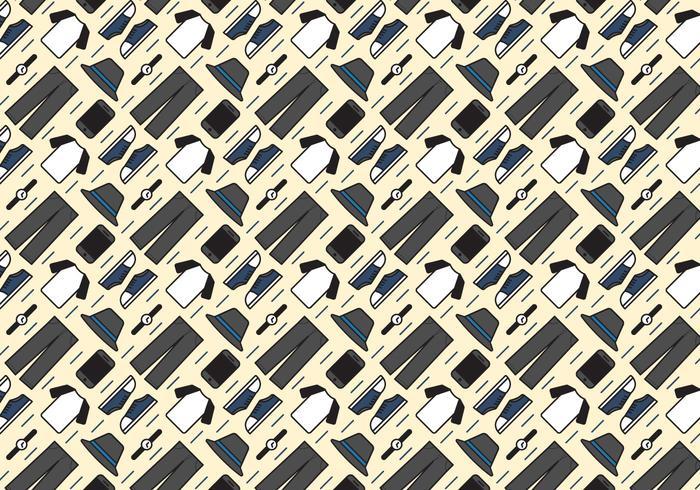 Raglan T-Shirt conjunto de patrón Vector